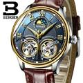 2020 новые механические мужские часы Бингер роль люксовый бренд Скелет наручные сапфировые водонепроницаемые часы мужские часы reloj hombre