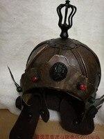 Реквизит для киносъемок древних генералов Общий шлем из бронзы