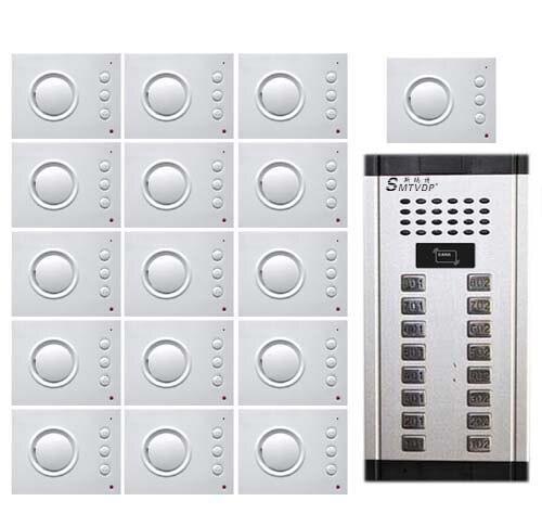 List Of Apartments That Accept Evictions: SMTVDP Building Intercom System Audio Door Phone 16