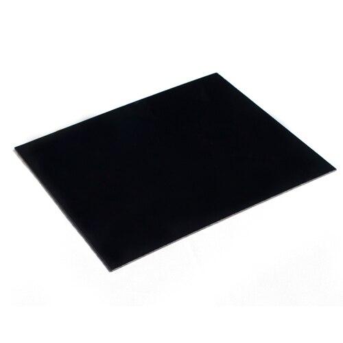 Tablero de la reflexión negro para estudio foto caja 25 cm x 30 cm envío libre
