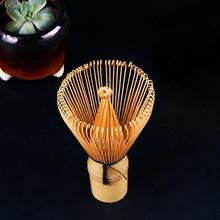 Новое поступление Порошковая щетка инструмент для матча, натуральная бамбуковая ложечка венчик для приготовления зеленого чая LX1933