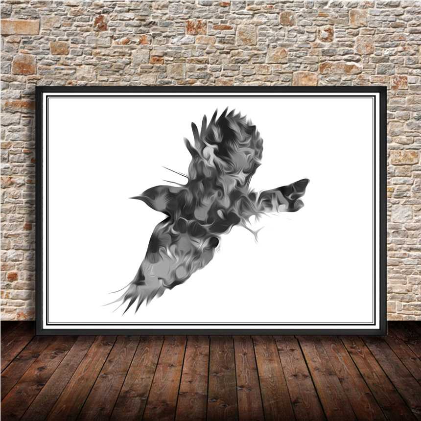 Hot sale classic Animal poster eagle vintage retro poster wall sticker print painting for cafe bar pub home decoration poster