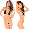 Adult women sex toy Sexy Micro mini tiny Brazilian sling Triangle Top Thong G-string bikinis swimwear lingerie Set for girl