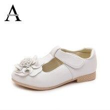 Aercourm Un La Vente Chaude Filles Shoes Automne Bouche Peu Profonde Enfants Sandales Enfants Sandales En Cuir Fleur de Bande Dessinée Princesse Shoes