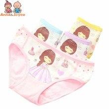 Underwear Kids Briefs Baby-Girl Pants Panties2-10years Princess Cotton Infantis Cartoon