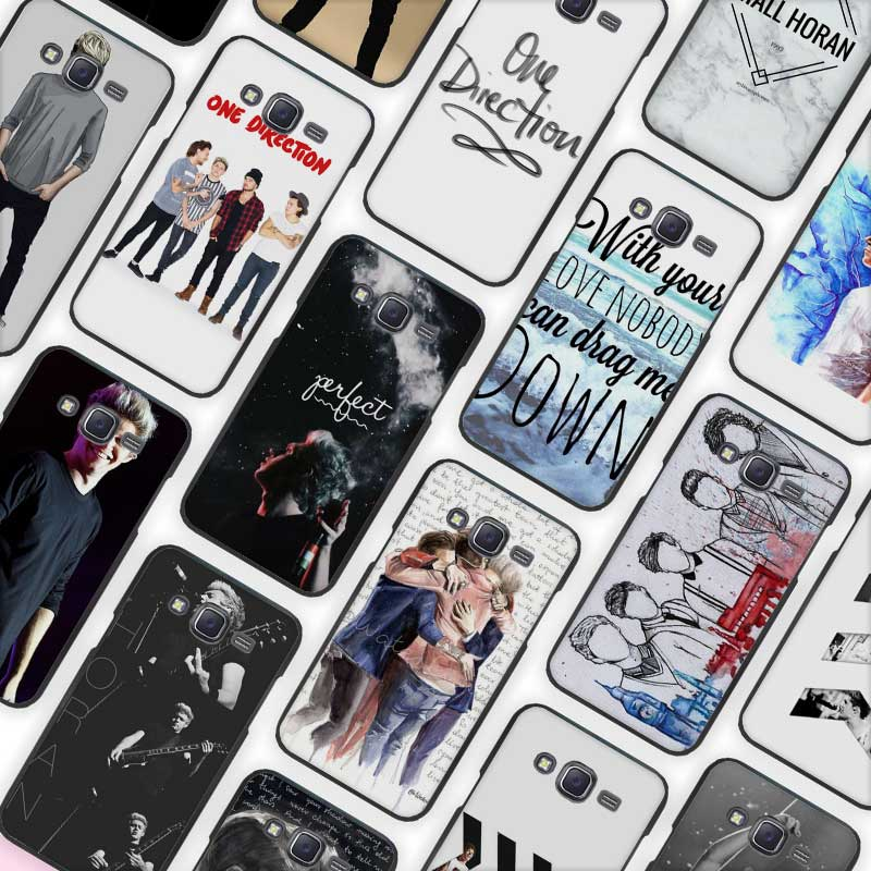 Niall Horan One Direction Black Case Cover Shell Protective for Samsung Galaxy J1 J2 J3 J5 J7 2016 2017