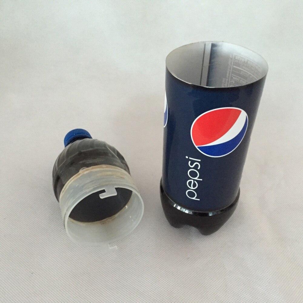 (Из двух частей/серия) шкатулка-Сейф pepsi бутылку воды утечки Сейф (DIY пустая бутылка)