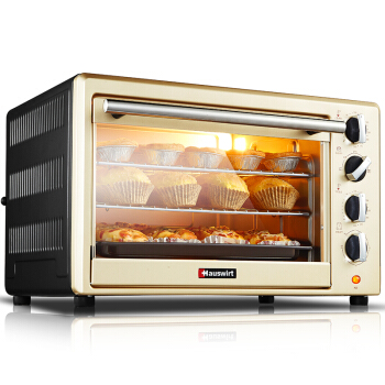 HO-40C Home Multifunction High Capacity 40L Electric Oven Up and Down Independent Temperature Control Kitchen Baking Oven high tmperature 300 degree t25 oven cooker light bulbs 240v ses e14 home kitchen
