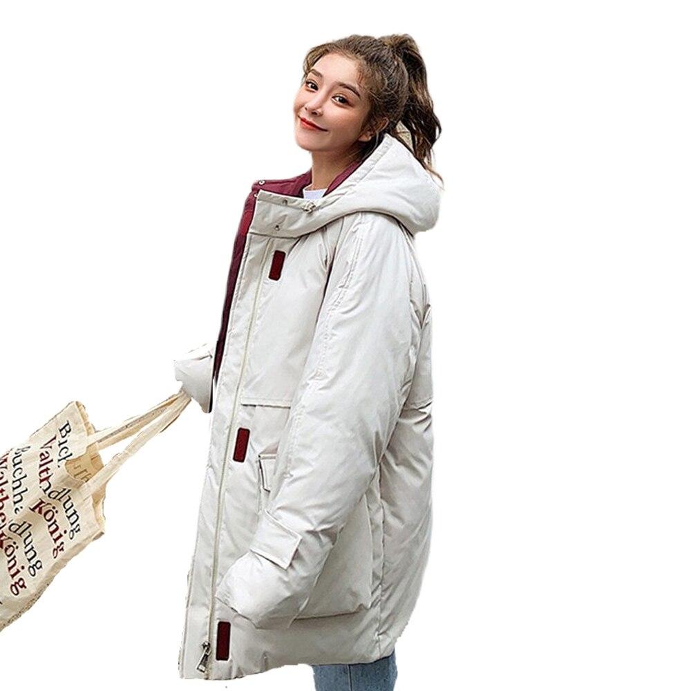 New Winter coat Female Korean Version Loose Short Cap Cotton Coat Jacket winter Coat down   parka   winter jacket women   parka   922