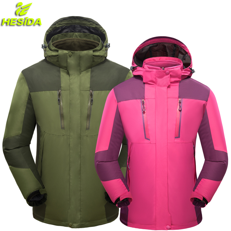 Brand Jacket Outdoor Fleece Tactical Men Women Soft Shell Hunting Waterproof Windproof Military Men Windbreaker Jacket Coat