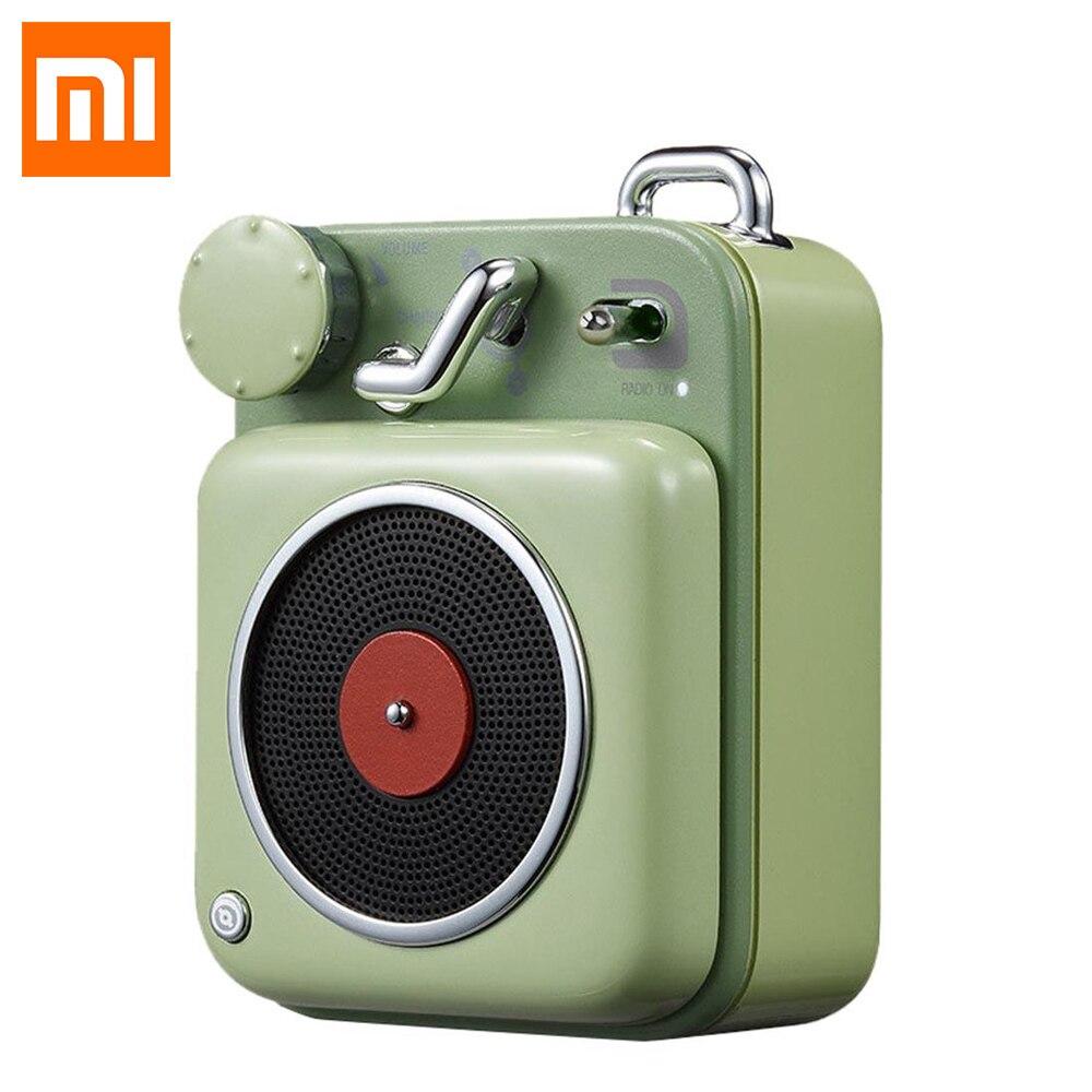 Xiaomi MW Elvis Atomic Record Player B612 Мини Bluetooth портативный динамик Mijia Карманный Смарт вечерние партии колонки для походов