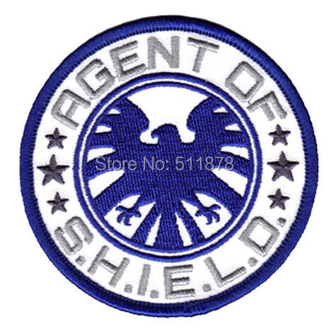 3 S H I E L D AVENGERS AGENTS OF SHIELD Logo Marvel comics Movie TV