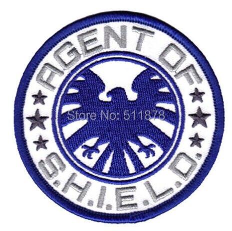 """3 """"shield التلفزيوني كلاء shield شعار مارفيل كوميكس المنتقمون الفيلم حلي تأثيري المطرزة حديد على رقعة-في لصقات طبية من المنزل والحديقة على  مجموعة 1"""