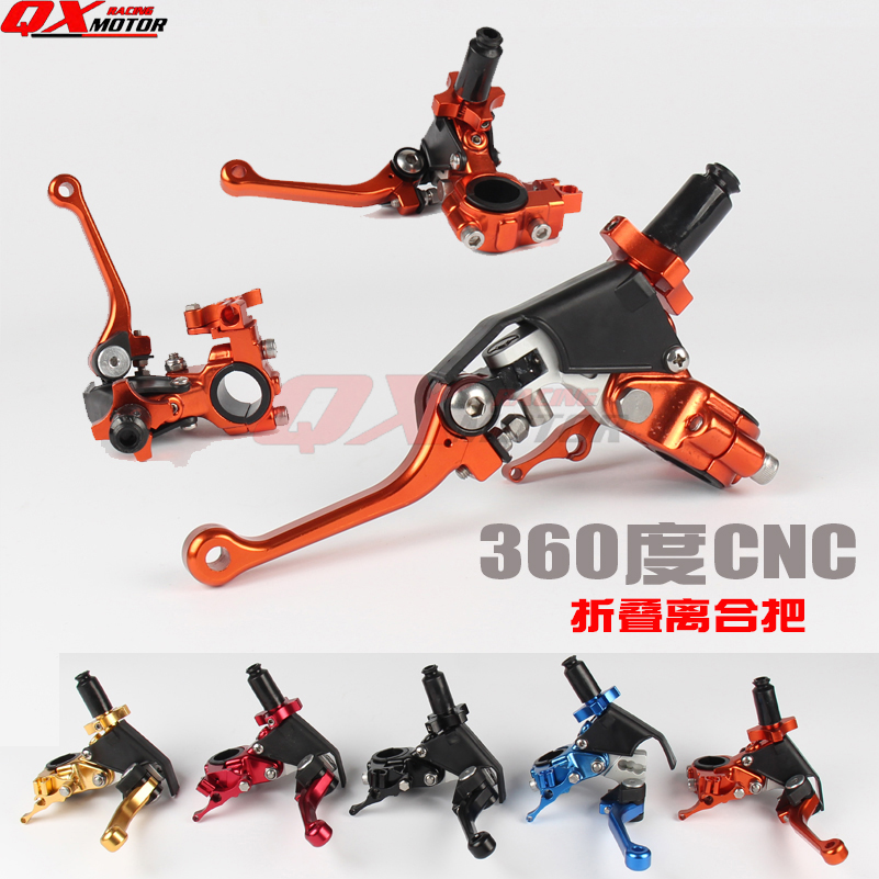 New CNC Folding Clutch Lever For KTM SX SXF EXC XC EXC-F EXCF Dirt Bike MX Motocross Enduro Supermoto Off Road Motorcycle motorcycle universal cnc billet pivot foldable clutch levers 22mm 7 8 dirt bike motocross enduro supermoto black