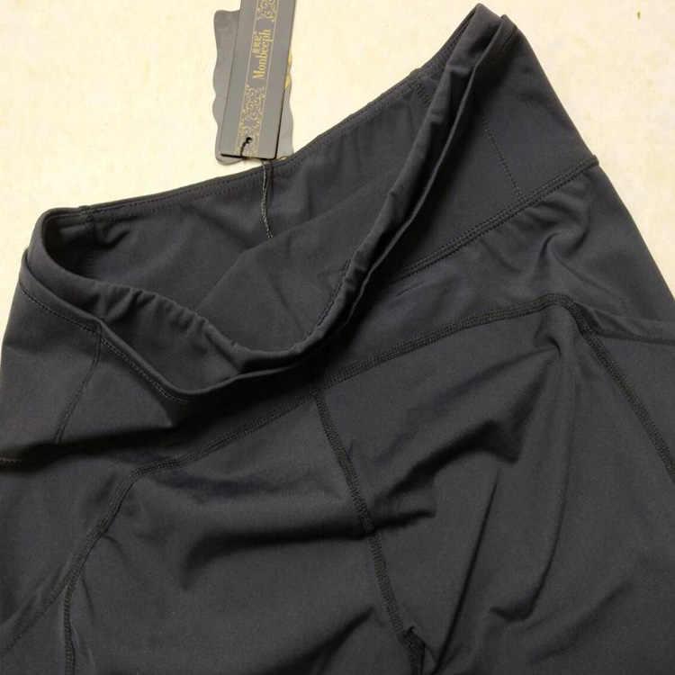Monbeeph impressão leggings calças de cintura alta Tornozelo-Comprimento das Calças 7/8 calças capris Lápis Calças skinny