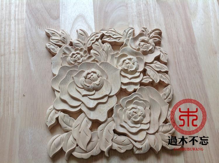 Antique wooden carved panel dragons pediment wooden panel antique