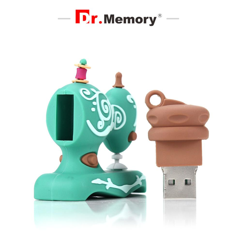 Sewing Machine Usb Flash Drive Memory Stick Usb Key 2.0 Pendrive 32GB 16GB 8GB 4GB Silicone Flash Memory 128GB 64GB Cute U Stick