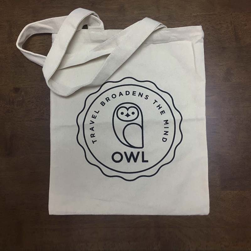 100 Pcs/Lot Custom Your Logo Silkscreen Printed Casul Canvas Cotton Tote Bag Company Shopping Bag Eco Classic Bag