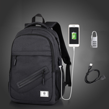 цена Anti Thief USB Charge Men Backpack Laptop Backpack for Women Men School Backpack Bag for Teenagers Boys Girl Male Travel Mochila