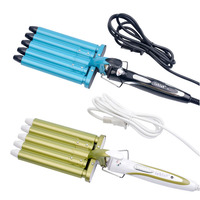 Hot 5 Barrels Big Wave Hair Curlers Rollers 110 240V Electric Hair Curler Woman Curling Iron