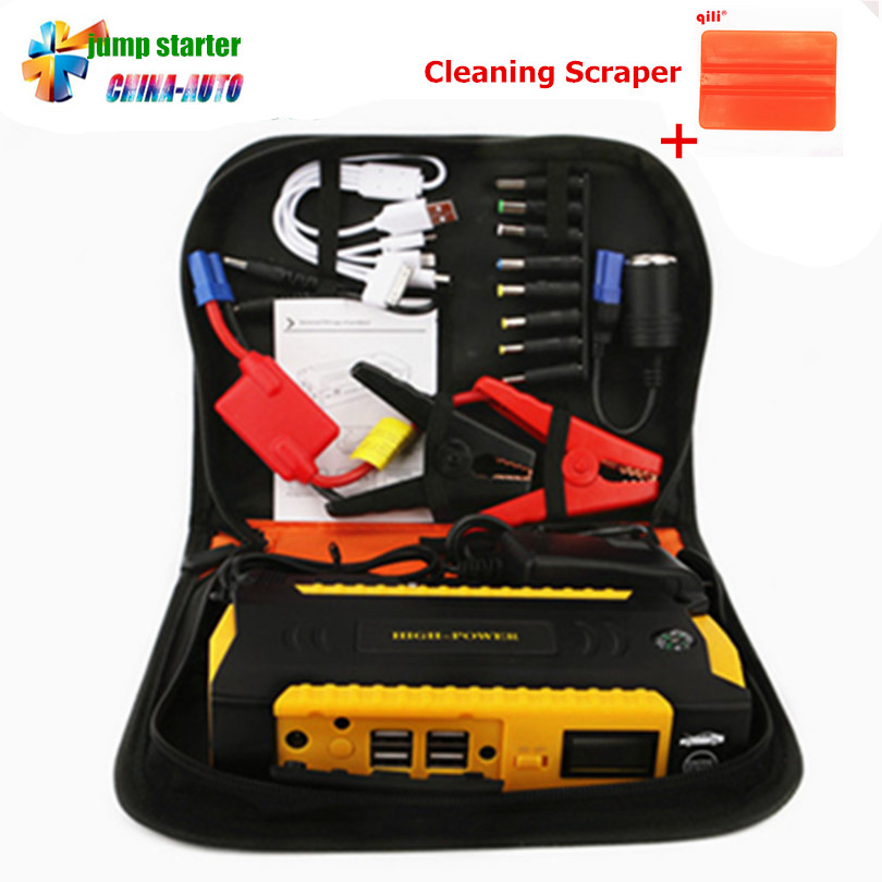Car Jump Starter 600A Portable Starting Device Power Bank 12V Charger For Car Battery Booster Buster Diesel Petrol Car Charger