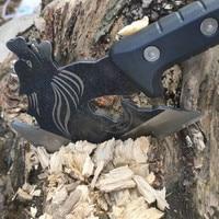 FBIQQ Camping Axe Tomahawk Army Outdoor Hunting Camping Survival Machete Axes Hand Tools Fire Axe Hatchet Axe/Ice Axe