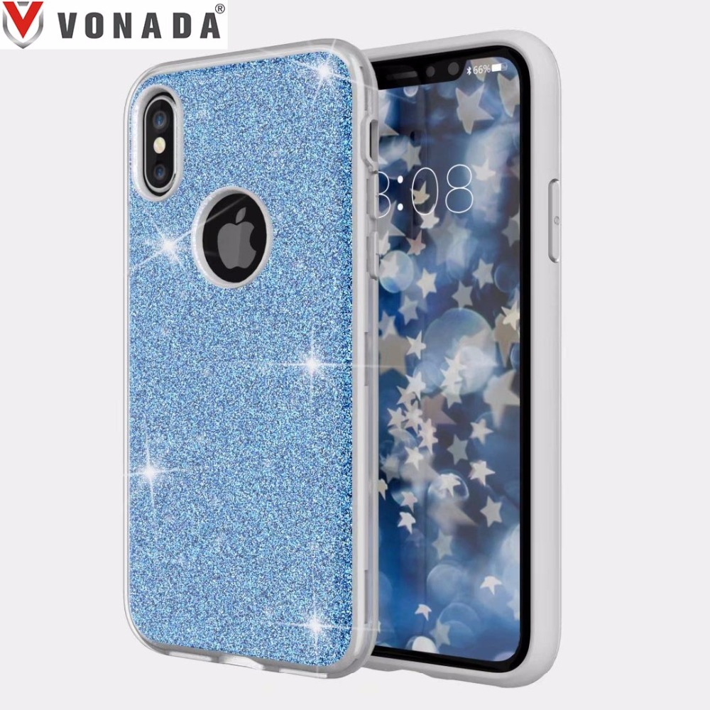 Shining Bling Glitter Soft TPU Phone Case Cover for iPhone X 5 5s SE 6 6s 7 8 Plus Samsung S8 Plus J7 2017 LG k10 2017 Stylo 3