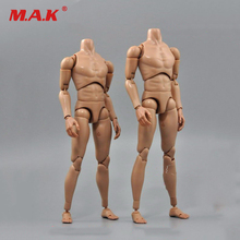 1/6 Scale B006/B007 Military Male Narrow Shoulders Nude Action Figure Body Skin Color For 12″ Action Figure Toys Accessories