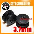 5 unids/lote 3.7mm lente Botón efecto lente Junta 80 Grados De Seguridad CCTV Cámara Envío Gratis