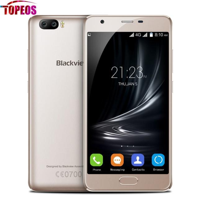 Blackview A9 PRO Dual Rear Camera Mobile Phone Android 7.0 Quad Core MTK6737 2GB RAM 16GB ROM Fingerprint 720P 8MP 4G LTE Phone