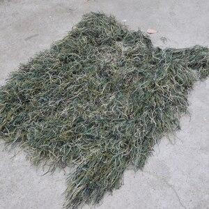 Image 4 - חליפת Ghillie מדבר עמיד לנשימה רשת רירית ציד ההסוואה צלף צופיות צלף חורש סט ערכות