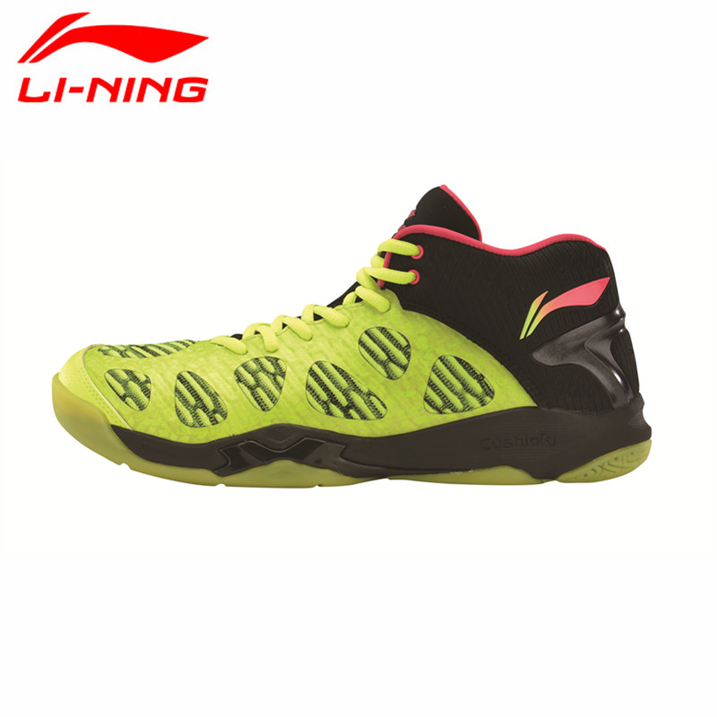 Li-Ning 2017 Newest Men's Badminton Shoes Breathable Lining Athletic Sneaker Anti-Slippery Sports Shoe Li Ning Genuine AYAM011 original li ning men professional basketball shoes