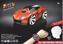 New Smart Watch remote voice control Toy RC Car 2.4G 4CH Voice Command Car Remote Control Sports outside toy vs AAA25896 SJ88