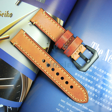 20/22mm Genuine Leather Watchbands Men Women Italy Watch Ban