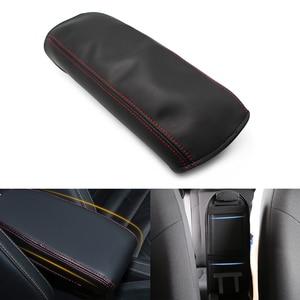 Image 5 - لهوندا سيفيك 8th الجنرال 2006 2007 2008 2009 2010 2011 مقبض باب السيارة لوحة مسند ذراع ستوكات أغطية جلد فقط 4 أبواب نموذج