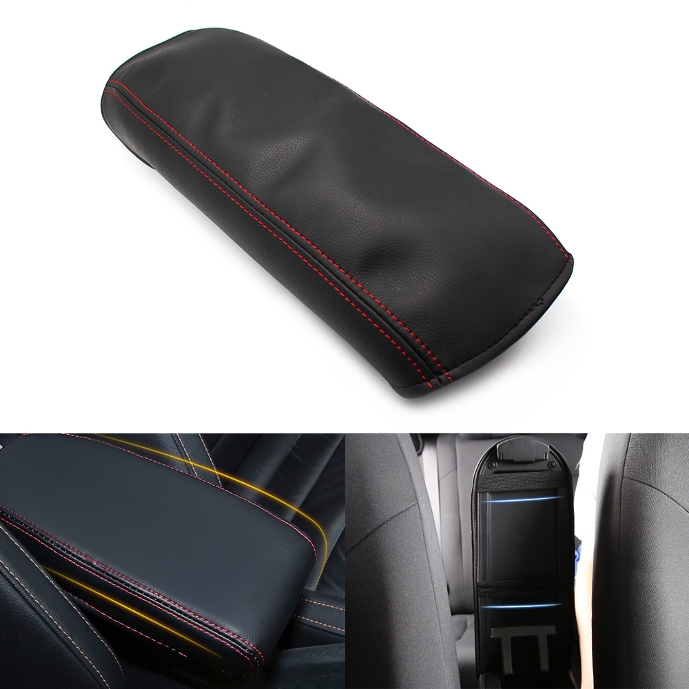 Image 5 - For Honda Civic 8th Gen 2006 2007 2008 2009 2010 2011 Car Door Handle Panel Armrest Microfiber Leather Cover only 4 doors model-in Armrests from Automobiles & Motorcycles