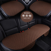 1 set car seat cushion seat Car Styling Breathable Cooling Car Cushion Seat Cover Linen fabric car seat cover