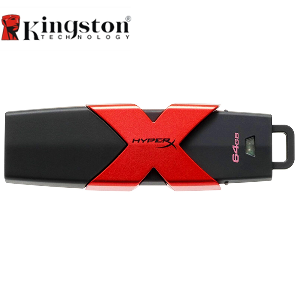 Kingston HyperX Savage USB3.1 Flash Drive 64GB Pen Drive 128GB Flash Disk 256GB Pendrive 512GB Memory Stick High Speed 350MB/s цена и фото