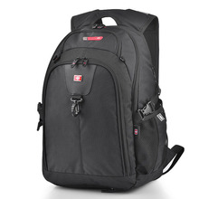 Business Casual Laptop Backpack Waterproof High-impact Casual Bag Front Eearphone Hole Men Multi-pocket Fashion Travel Backpack