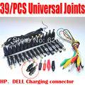 39 em 1 conjunto novo universal ac dc jack carregador adaptador de alimentação conector plug ser em uso comum uma variedade de notebook marca