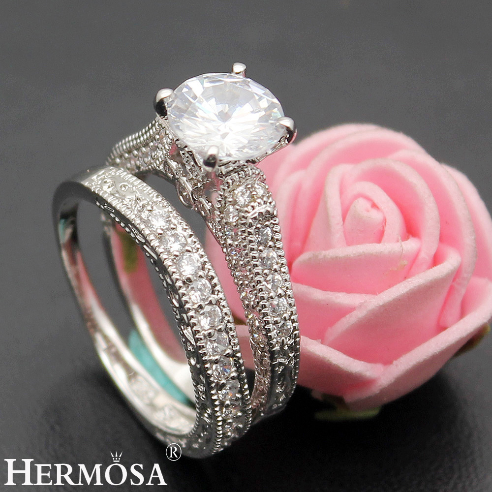 BIG PROMOTION Romantic LOVE GIFT Hermosa Fashion Jewelry White ...