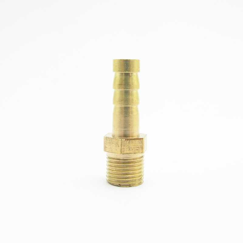 "4mm 6mm 8mm 10mm 12mm Hose Barb x 1/8"" BSP Male Thread Brass Barbed Pipe Fitting Nipple Connector Coupler Adapter"