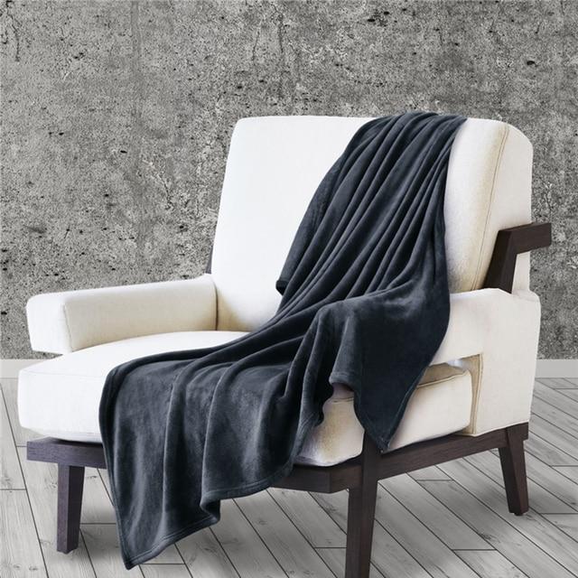 Fleece Plush Blanket for Beds 3