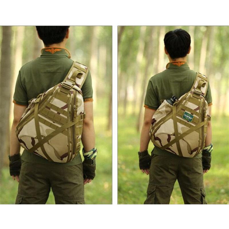 Mens bags chest package high grade ultra-large travel bag womens single shoulder fashion best backpack casual chest bag