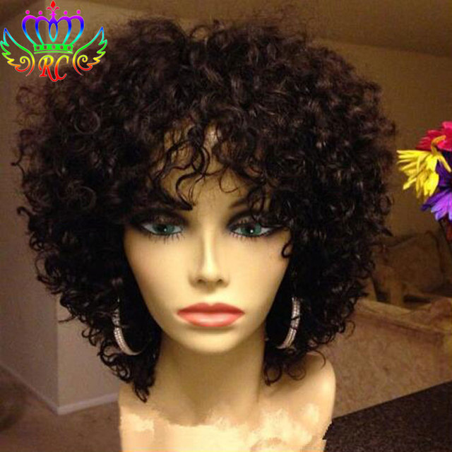 Synthetic Lace Front Wigs with Baby Hair Afro Kinky Curly Hair Wigs That  Look Real Synthetic Wigs for Black Women Fast Shipping b50beafd8