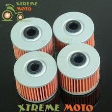 4* масляный фильтр очиститель для Honda ATC250 TRX250 TRX300 ATC350X TRX400X TRX700XX Мотокросс для мотогонок ATV Dirt Bike бездорожье