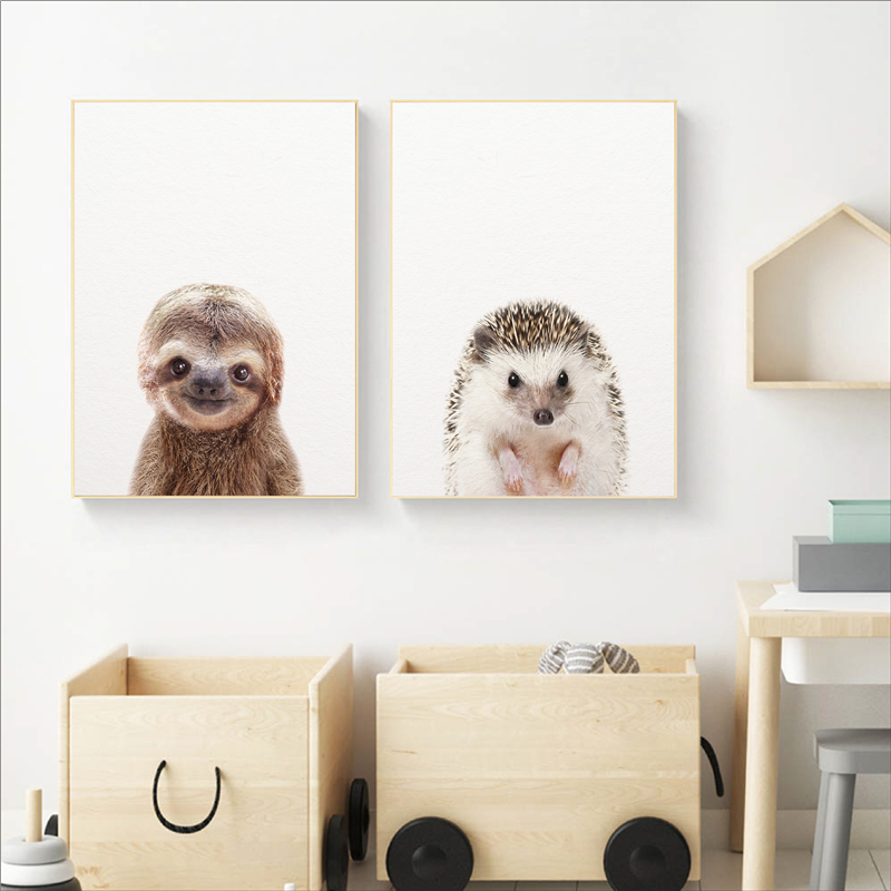 Baby hedgehog,nursery Baby animal prints,hedgehog print poster bathroom wall art