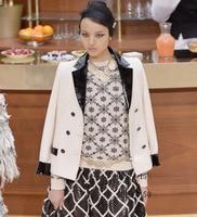Женские пиджаки и Куртки, сращены Кожа jaqueta feminina элегантный Блейзер Feminino Большие размеры пиджак женщин, 5XL 6XL Блейзер Femme
