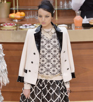 women blazers and jackets,Spliced leather jaqueta feminina elegant blazer feminino plus size blazer women,5xl 6xl blazer femme