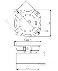 Image 3 - 2 adet ses Labs 3 HiFi tam aralıklı frekans hoparlör tweeter HiFi ses monitörü ev sineması ham hoparlör sürücüsü seti 3 inç